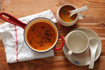 Roast Capsicum Soup