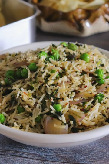 Methi Jeera Rice