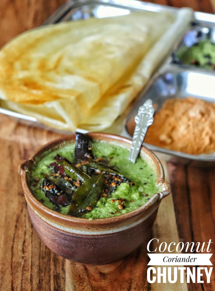 Picture of Coconut Coriander Chutney for Idly Dosai