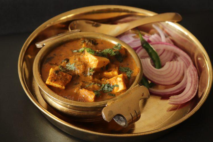Lasooni Paneer Curry_Close Up