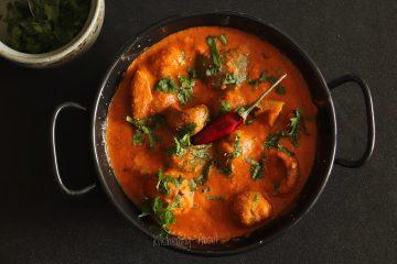 Mushroom & Capsicum Curry
