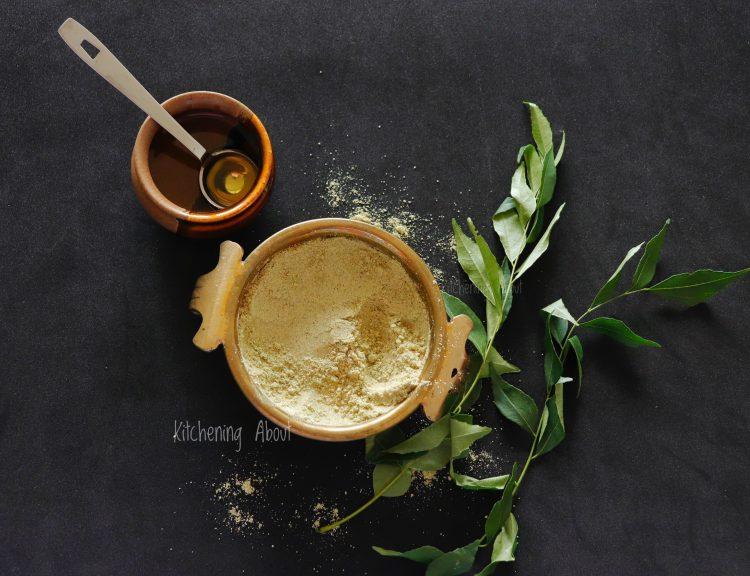 Curry Leaves Podi