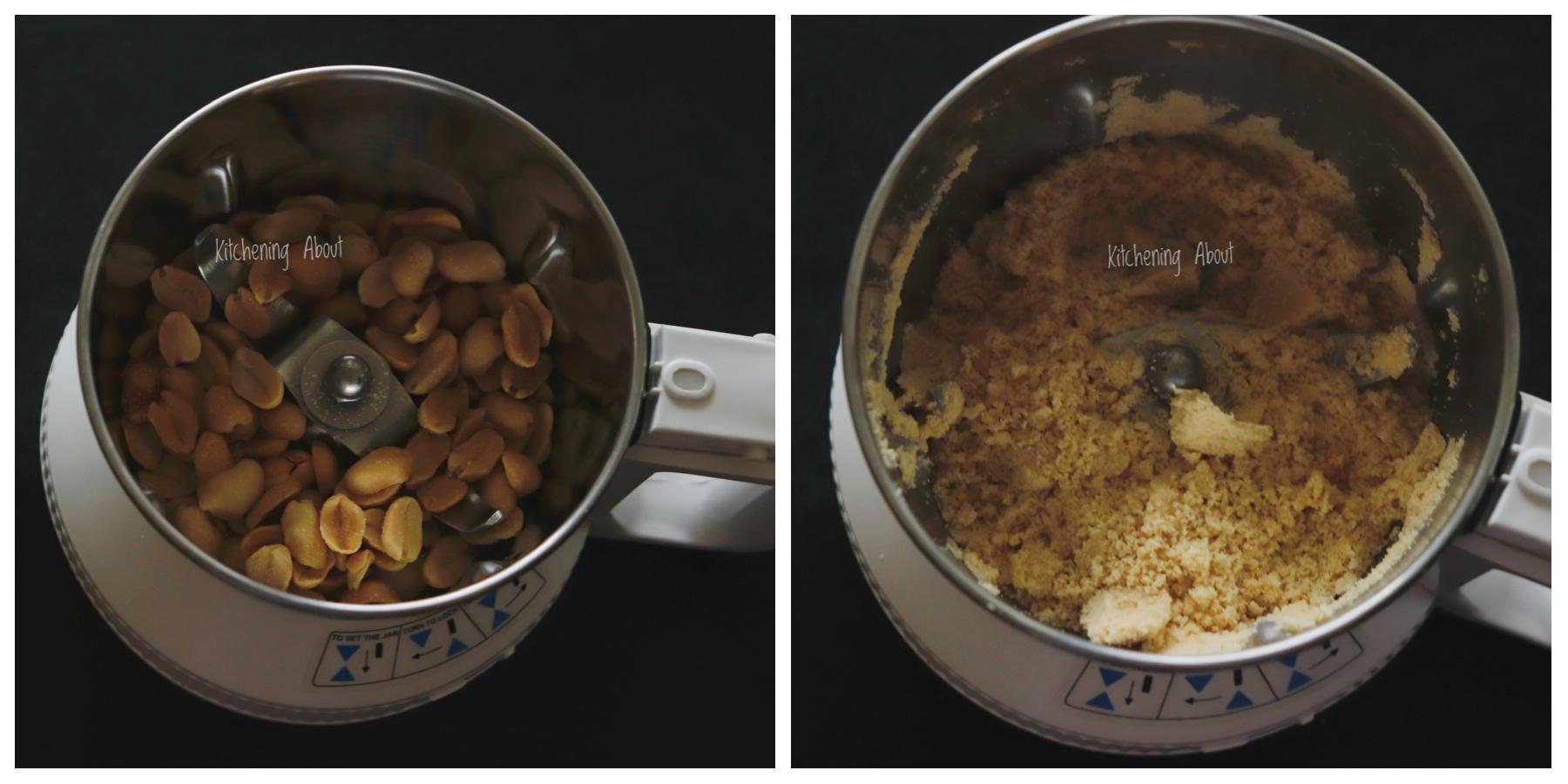 Roasted peanut powder