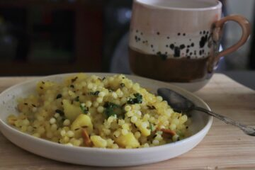 Sabudana with Chai
