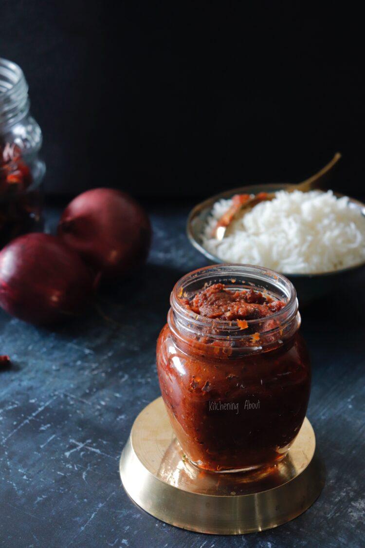 Onion Thogayal